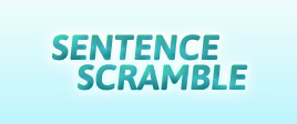 View game: Sentence Scramble